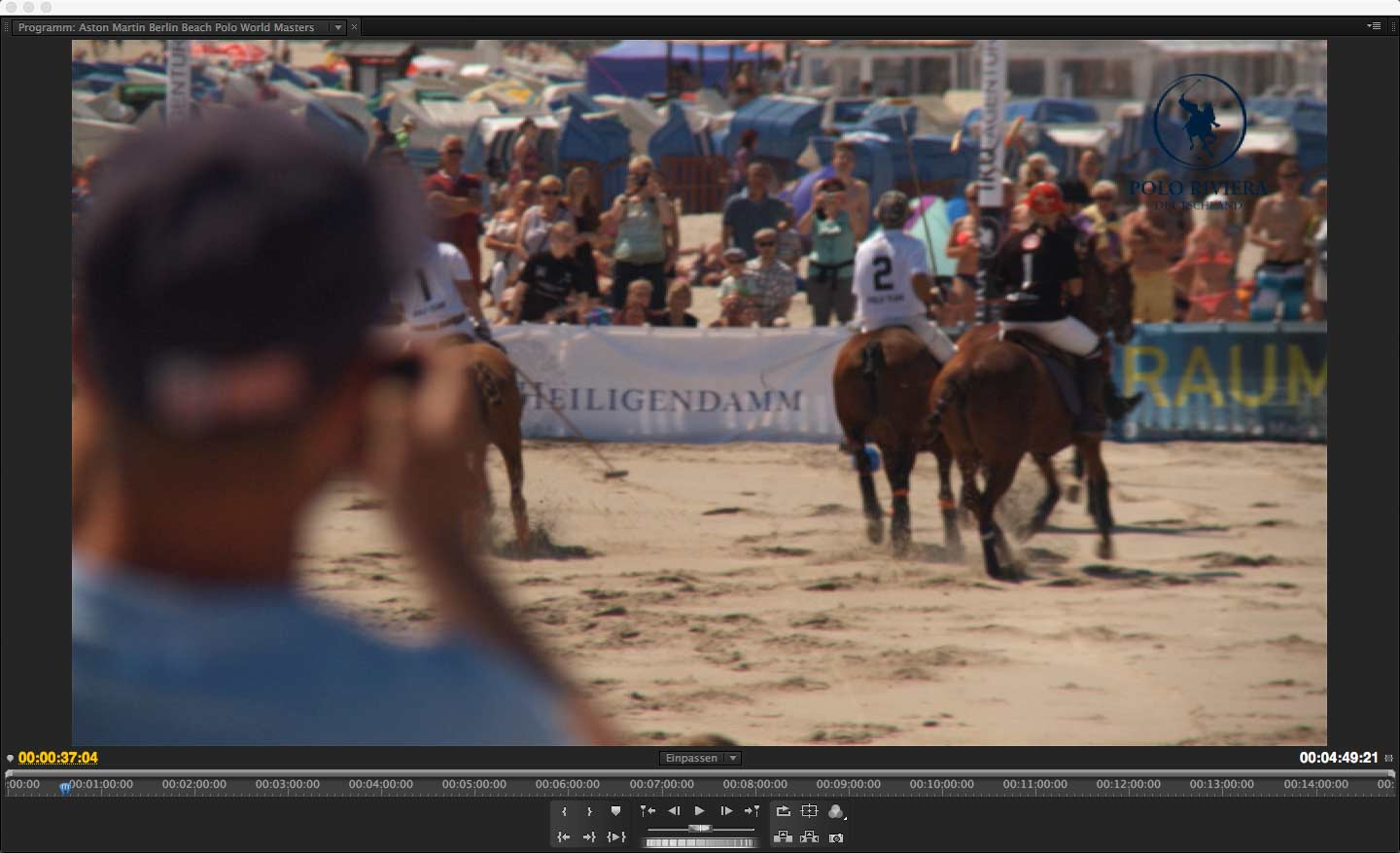 Aston Martin Berlin Beach Polo World Masters